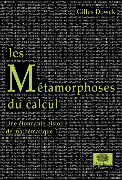 Les métamorphoses du calcul ; une étonnante histoire de mathématiques