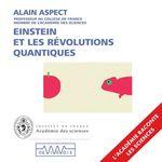 Vente AudioBook : Einstein et les révolutions quantiques  - Alain Aspect