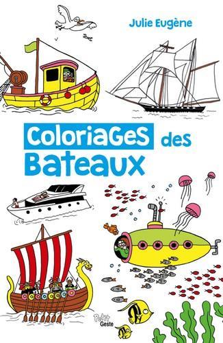 Coloriages des bateaux
