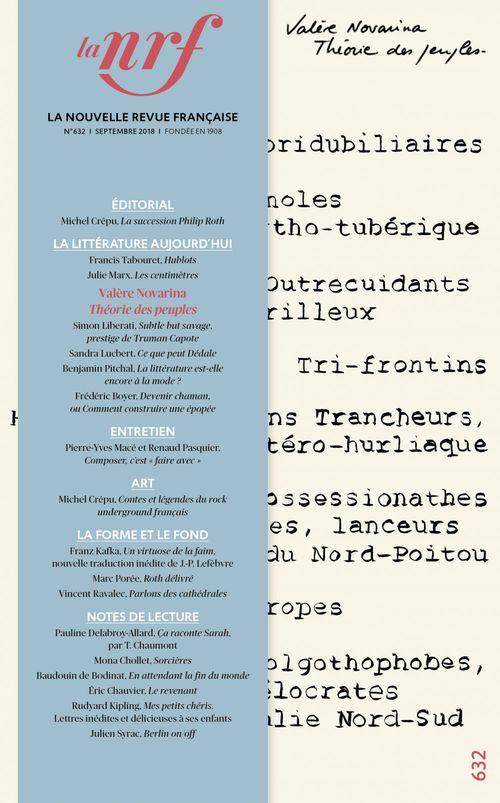 La nouvelle revue francaise