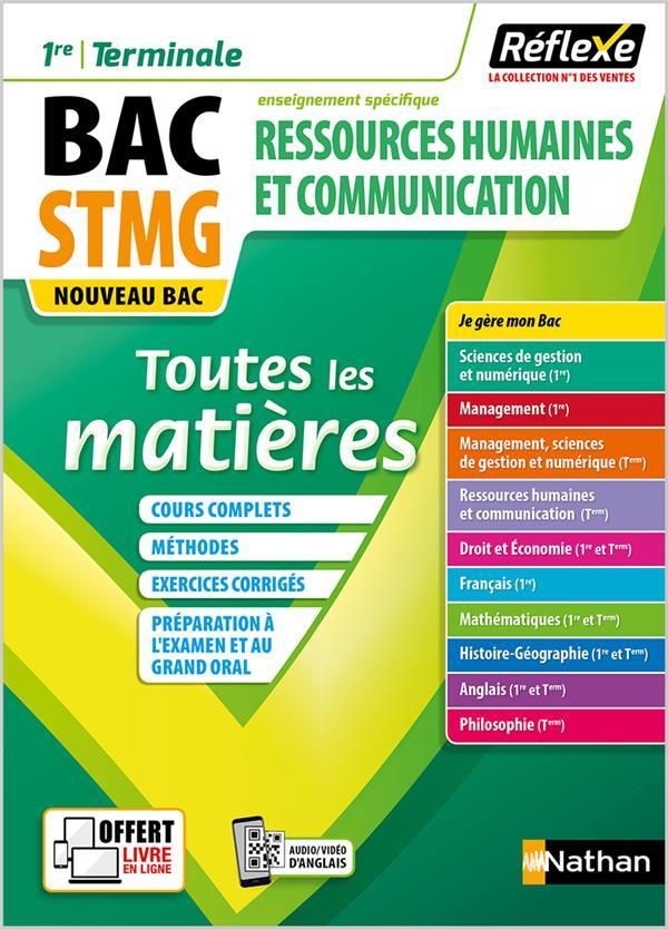 REFLEXE BAC T.2 ; ressources humaines et communication ; 1re, terminale ; BAC STMG (édition 2020)