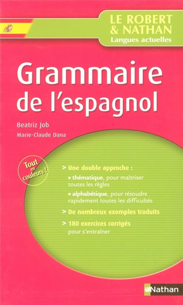 Grammaire De L'Espagnol