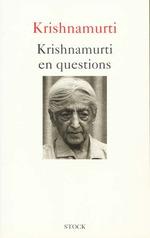 Vente Livre Numérique : Krishnamurti en questions  - Jiddu Krishnamurti