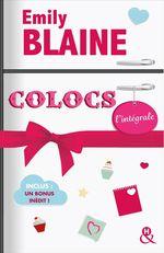 """Vente Livre Numérique : """"Colocs"""" : L'intégrale  - Emily Blaine"""