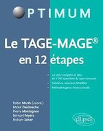 Vente EBooks : Le TAGE-MAGE® en 12 étapes  - Pierre Montagnon - Bernard Myers - Malek Dekimeche - Robin Morth (coord.)