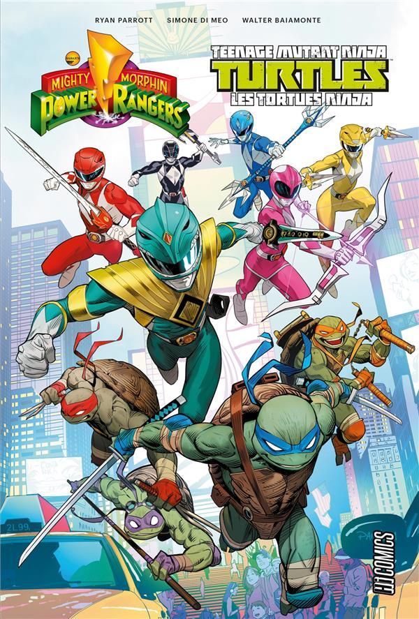 Mighty Morphin Power Rangers & Teenage Mutant Ninja Turtles T.1