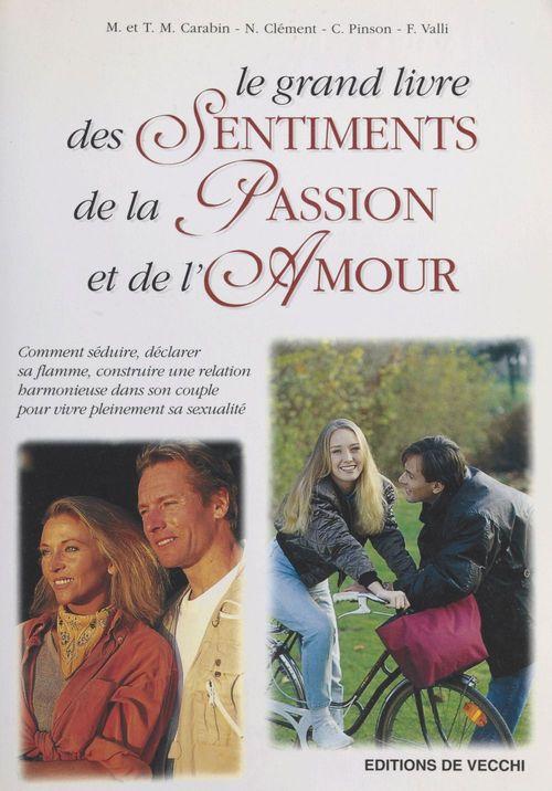 grand livre des sentiments ; passion ; amour