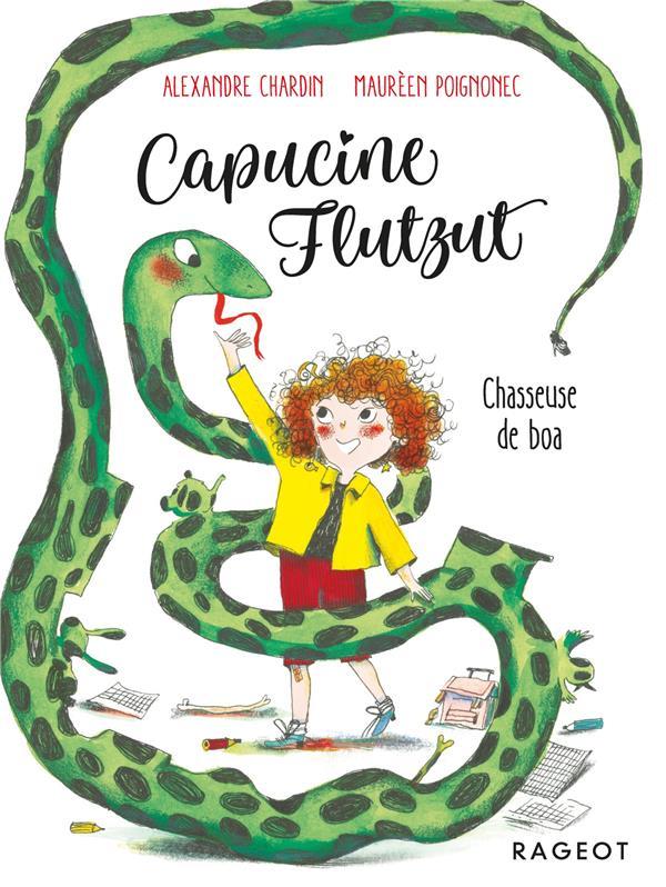 Capucine Flutzut ; chasseuse de boa