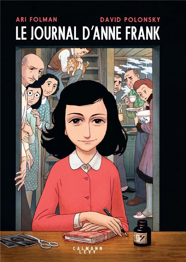 Le journal d'Anne Frank ; roman graphique