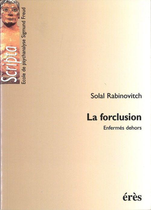Forclusion (la)