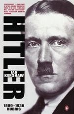 Vente EBooks : Hitler 1889-1936  - Ian Kershaw