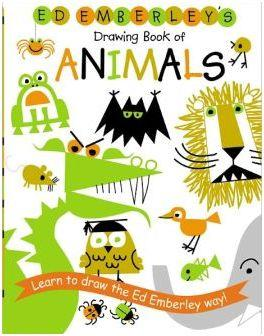 Ed emberley drawing book animals /anglais