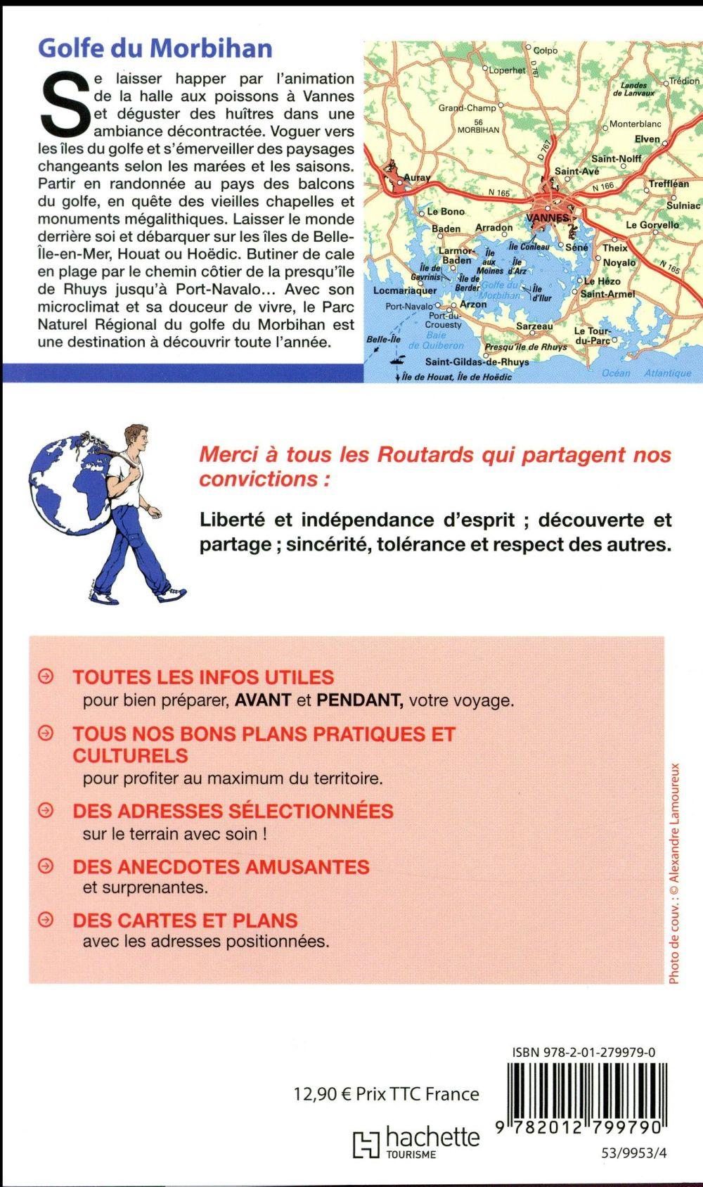 Guide du Routard ; Golfe du Morbihan