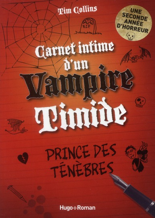 Carnet intime d'un vampire timide t.2