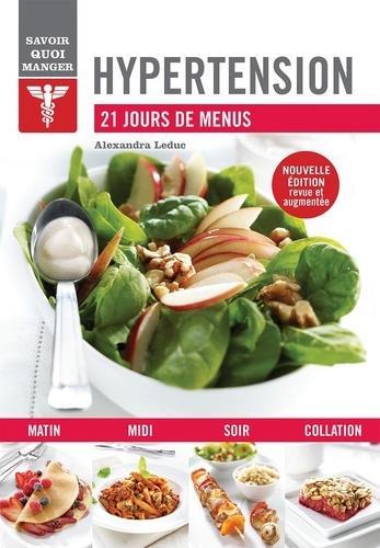 savoir quoi manger ; hypertension