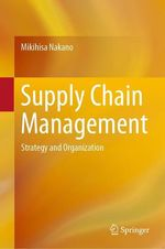 Supply Chain Management  - Mikihisa Nakano