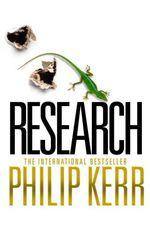 Vente Livre Numérique : Research  - Philip Kerr