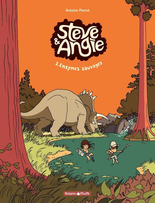 Steve et Angie  - Tome 1 - Enzymes Sauvages
