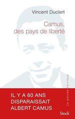 Vente EBooks : Camus, des pays de liberté  - Vincent Duclert