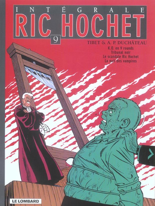Ric Hochet ; Intégrale vol.9