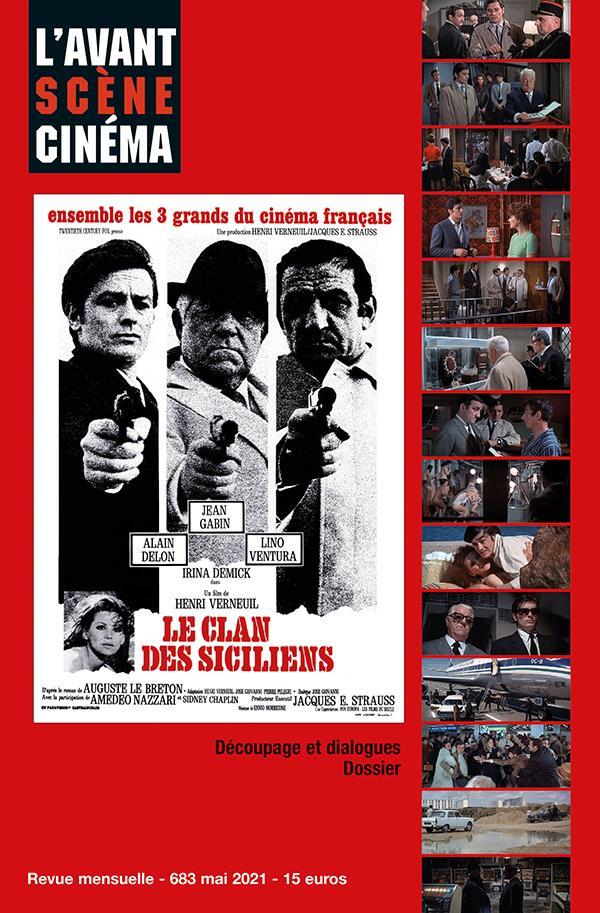 L'avant scene cinema n 683 : le clan des siciliens - mai 2021