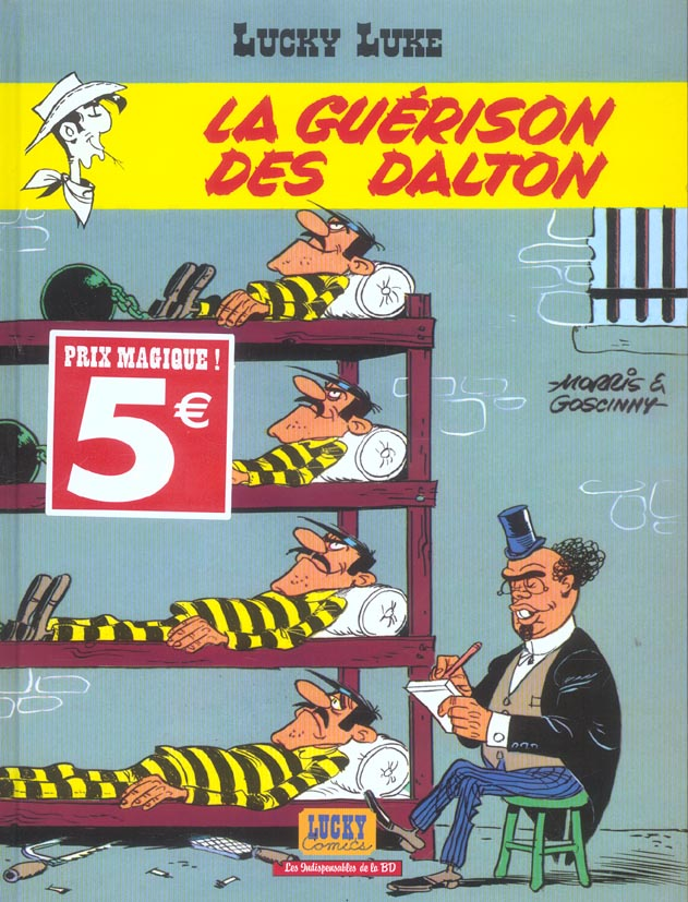 Lucky Luke T.12 ; la guérison des Dalton