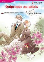 Vente Livre Numérique : Quiproquo au palais  - Kaishi Sakuya - Rebecca Winters