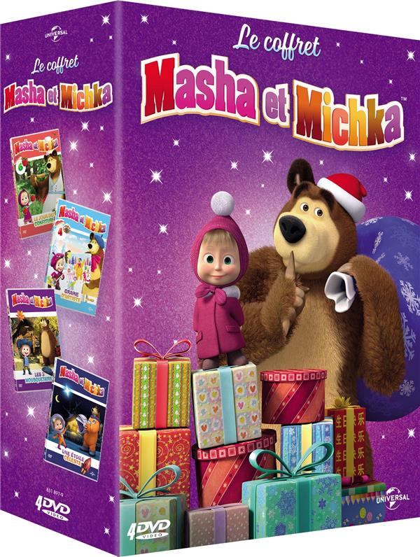 Masha et Michka - Le coffret