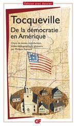 Vente Livre Numérique : De la démocratie en Amérique (choix de textes)  - Alexis de TOCQUEVILLE
