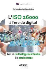 L´ISO 26000 à l´ère du digital