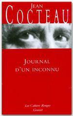 Vente Livre Numérique : Journal d'un inconnu  - Jean Cocteau