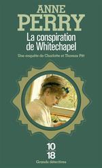 Couverture de La conspiration de whitechapel