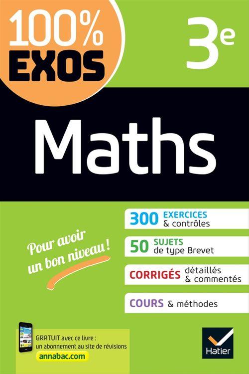 100% EXOS ; maths 3e