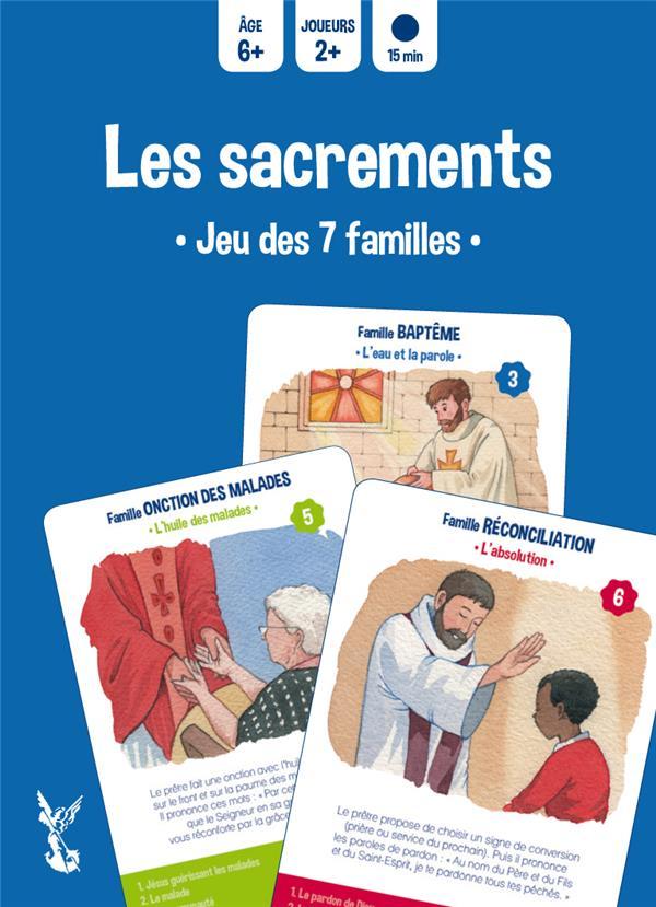 Les sacrements ; jeu des 7 familles