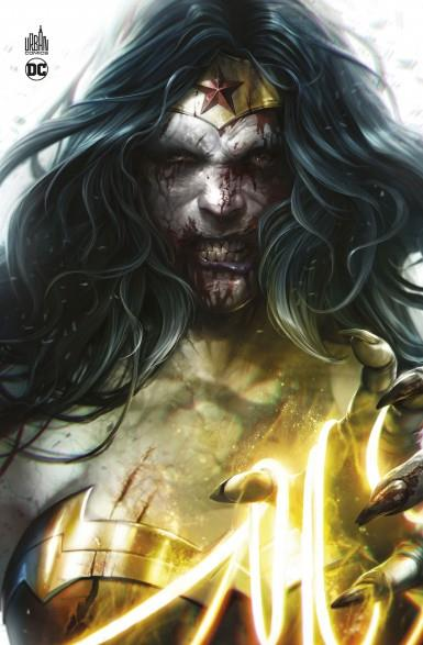 DCeased couverture Wonder Woman zombie