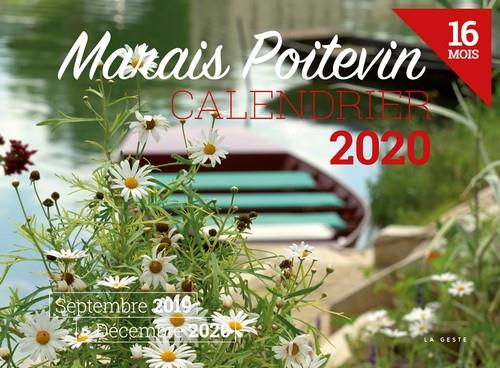 Calendrier 2020 ; Marais poitevin
