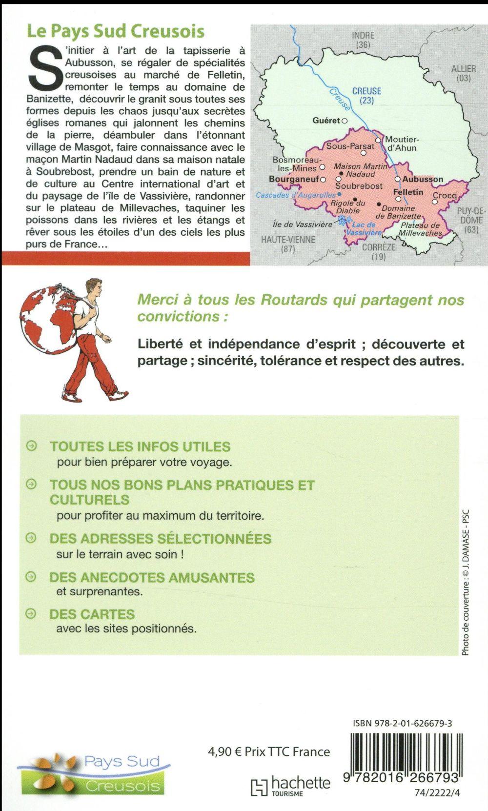 Guide du Routard ; le pays sud creusois (édition 2018)