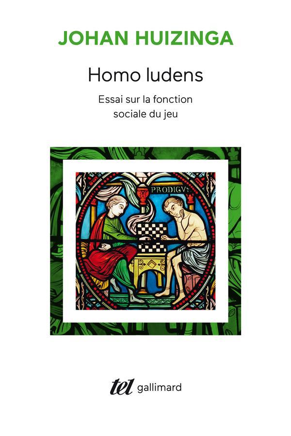 Homo ludens ; essai sur la fonction sociale du jeu