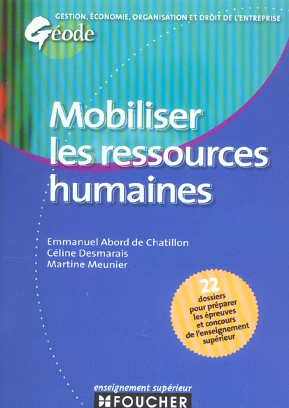 Mobiliser les ressources humaines