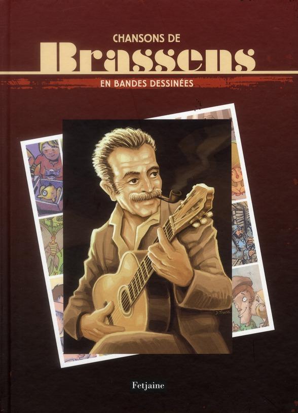 Chansons de Brassens en BD