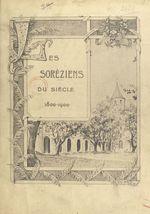 Les Soréziens du siècle, 1800-1900