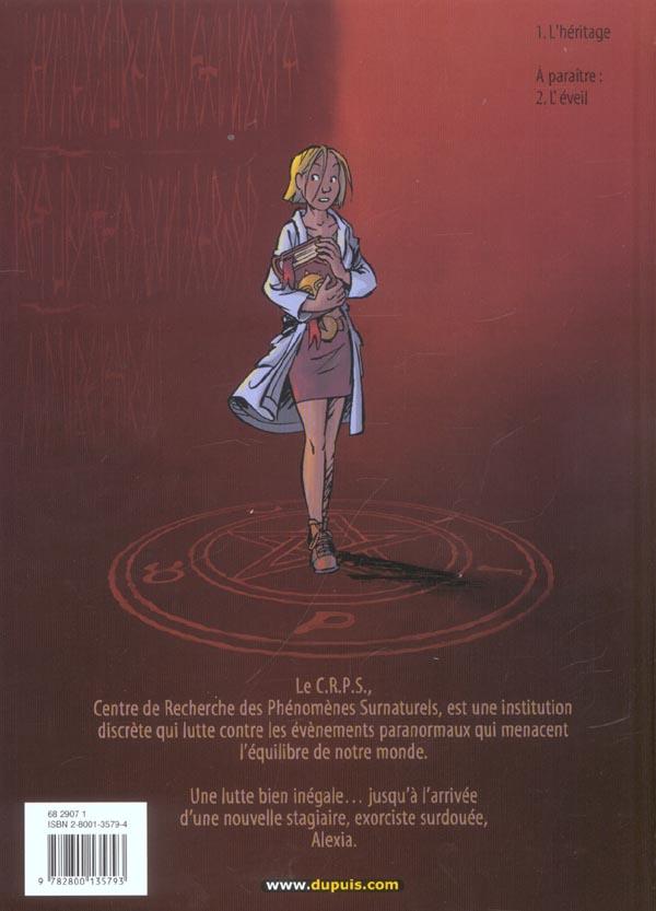 Les démons d'Alexia T.1 ; l'héritage