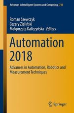 Automation 2018  - Cezary Zielinski - Roman Szewczyk - Malgorzata Kaliczynska