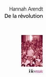 Couverture de De la révolution