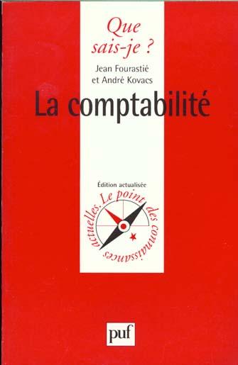 Comptabilite (la)