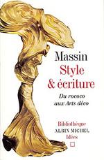 Vente Livre Numérique : Style et écriture. Du rococo aux Arts déco  - Massin