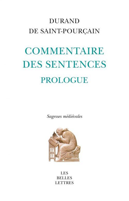 commentaire des sentences ; sagesses médiévales