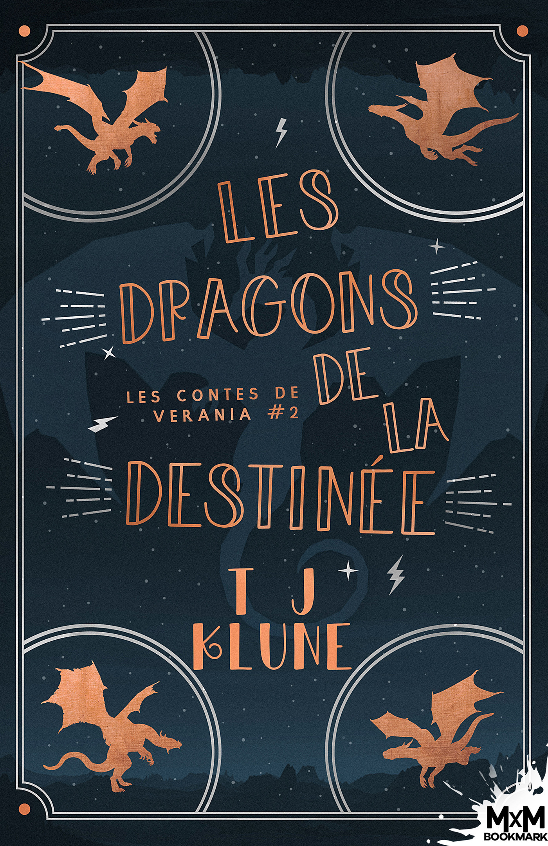 Les contes de Verania t.2 ; les dragons de la destinée