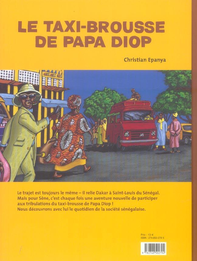 Taxi brousse de papa diop