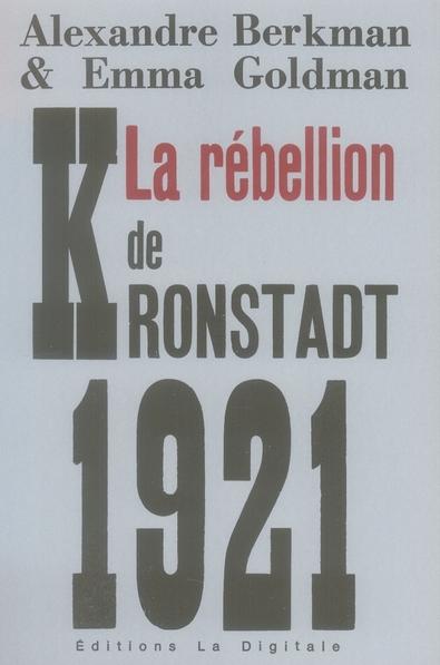 La rébellion de Kronstadt 1921